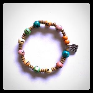 Jewelry - Wooden Bracelet BFF CHARM - Best Friends Bracelet
